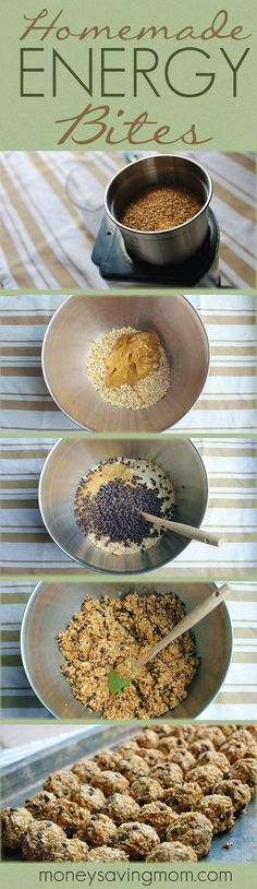 These Homemade Energy Bites are SO delicious -- and good for you, too! They are…