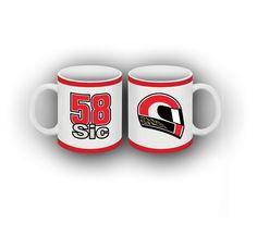 The Marco Simoncelli Mug http://www.gp-racingapparel.com/mug-marco-simoncelli-58-official-accessory-collection.html