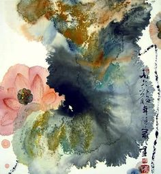 by Chenjia Ling- I truly love this! The colors and softness- maybe water/ocean in the middle, it draws me in.