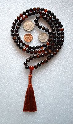 8 MM INDIAN AGATE PRAYER BEADS JAPA MALA NECKLACE WITH CARNELIAN GURU BEAD. KARMA (108+1) BEADS. BLESSED & ENERGIZED HINDU TIBETAN BUDDHIST SUBHA ROSARY MALA FOR NIRVANA, BHAKTI, FOR REMOVING INNER DOSHAS, FOR CHANTING AUM OM, FOR AWAKENING CHAKRAS, KUNDALINI THROUGH YOGA MEDITATION-FREE MALA POUCH AWAKEN YOUR KUNDALINI http://www.amazon.com/dp/B00ZGJNBAQ/ref=cm_sw_r_pi_dp_ulp1vb1P2WM08
