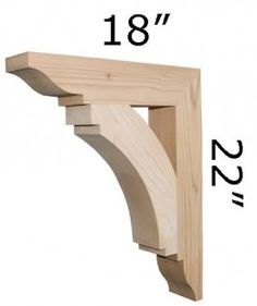 Wood Bracket 14T5 - Pro Wood Market
