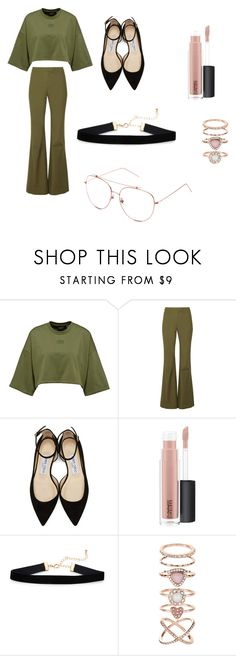 """""""Untitled #101"""" by kaykay1231 on Polyvore featuring interior, interiors, interior design, home, home decor, interior decorating, 10 Crosby Derek Lam, Jimmy Choo, MAC Cosmetics and Accessorize"""