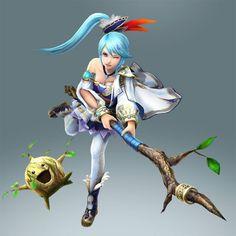 Zelda Hyrule Warriors: Ocarina of Time update (July 2014) - Lana gets Deku sprout and Saria's attributes | #HyruleWarriors #WiiU