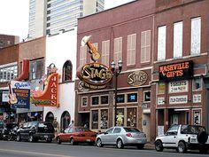 Nashville... Music Row... Ryman... Opryland... beautiful town