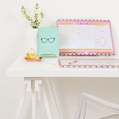 Stay on top of the busy school year with our geek chic Exam Summary Book! It features weekly templates to help you structure your notes and it's loaded with exclusive study tips! Shop our educationery range below!