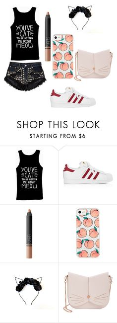 """""""look #3"""" by emmyla-erana on Polyvore featuring adidas, NARS Cosmetics and Ted Baker"""