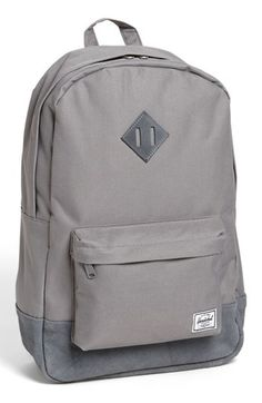 Herschel Supply Co. 'Heritage Plus' Leather Trim Backpack available at #Nordstrom