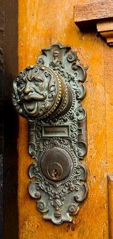 Gothic door knob.