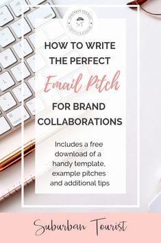 How to pitch a brand for sponsored blog or influencer campaigns. #bloggingtips #blogging #bloggingforbeginners #blog #lifestyleblogger