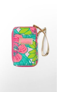 Lilly flower wallet.