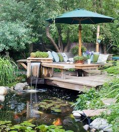 Waterfall garden garden gardening garden decor gardening images garden photos garden ideas garden art