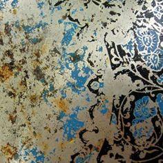 worn wallpaper