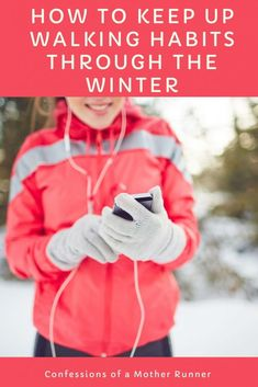 how to maintain your successful walking habit through winter Health And Wellness Coach, Health And Fitness Tips, Healthy Living Tips, Healthy Habits, Healthy Tips, Winter Walk, Winter Running, Endurance Training, Healthy Lifestyle Changes