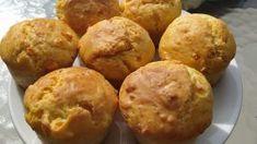 Αλμυρά κεκάκια με φέτα: Η καλύτερη συνταγή Feta, Muffin, Snacks, Breakfast, Cake, Health, Ethnic Recipes, Morning Coffee, Appetizers