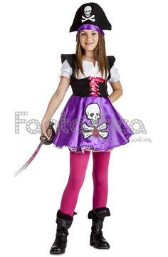 Resultado de imagen para disfraz de pirata para niña