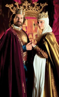 "Spanish tv series ""Isabel"" about the life of the catholic Queen."