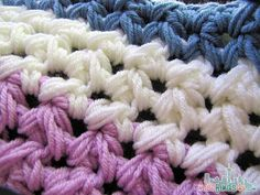 Free Crochet Patterns: Fast and Easy Weekend Afghan - Pattern Closeup