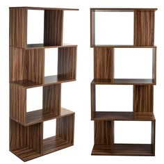 Display Shelf Storage Bookshelf 4 Level Tier Bookcase Stand Rack Unit cube 141cm…