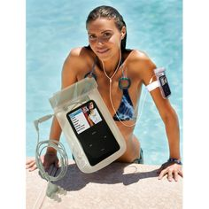Safe Waterproof Storage for Your Phone or iPod!