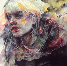 Mind Blowing Watercolor Paintings by Agnes Cecile