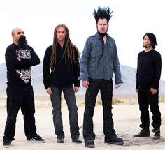 Static-X: great music, massive hair.
