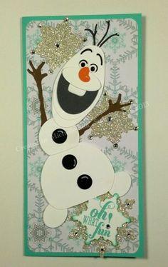 "stampin up frozen | Olaf"" - Disney's ""Frozen"" Snowman"