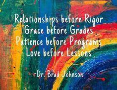 Mrs. D. Room F-12 (@krystal_deleeuw) / Twitter Patience, Brad Johnson, High School Quotes, Relationship, Painting, Krystal, Remote, Teaching, Education