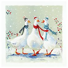 Buy Ling Designs A Merry Dance Christmas Card Online at johnlewis.com