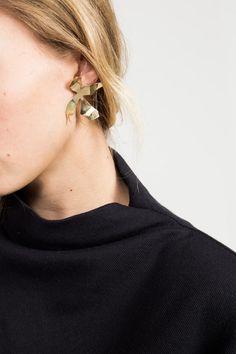 Faris, Ladyday Earrings Medium Bronze