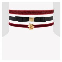 She'll set all sorts of sophisticated trends this season with this luxurious 3-piece Choker Necklace Set from Cat & Jack™. This glamorous choker multipack features a set of three elastic chokers in festive hues and a stretchy fit that'll turn any casual outfit into a party-ready look. Burgundy velvet, black nylon and gold hardware detailing combine to create three different, but equally beautiful, chokers that'll bring a perfectly glamorous touch to any fancy look.