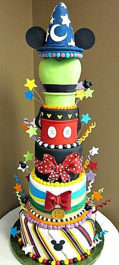 "Disney ""Mickey and Co"" Cake"