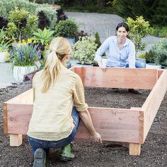 Position for sun - How to Build a Raised Garden Raised - Sunset