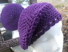 Slouchy Beanie  WILL MAKE to ORDER by HahnMade on Etsy, $13.00