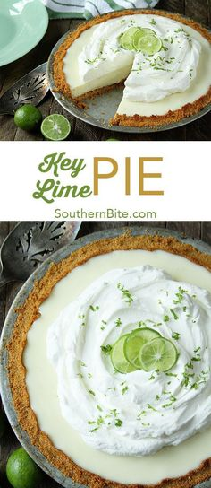 The #NewNESTEA is the perfect complement to this amazingly delicious and crazy simple Key Lime Pie. It only calls for 6 ingredients! #ad #easy #recipes #dessert #pie #keylime