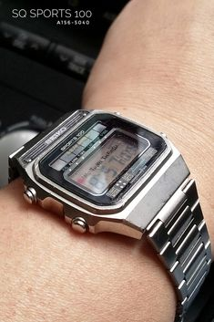 Casio Watch Old Fashion Casio Digital, Digital Watch, Seiko Solar, Portable Solar Panels, Nerd Chic, Camera Watch, Solar Watch, Casio Classic, Watches