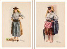 Postais Ilustrados Alberto de Sousa 5 e 6