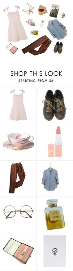 """children of aphrodite"" by cecilia-marie2002 ❤ liked on Polyvore featuring Keepsake the Label, Dr. Martens, Wedgwood, Rimmel, Romeo Gigli, Levi's, Chanel, Felt Good Co. and For Love & Lemons"