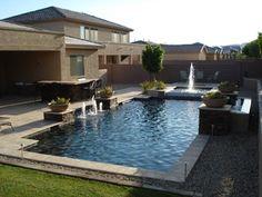 Custom Swimming Pools - traditional - pool - phoenix - by Shasta Pools and Spas