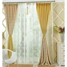 Creamed Color High Quality Customized Ready Made Plaid Curtains Plaid Curtains, Sweet Home, Color, Home Decor, Decoration Home, Check Curtains, House Beautiful, Room Decor, Colour