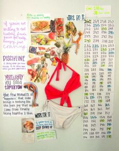 weight loss motivation wall