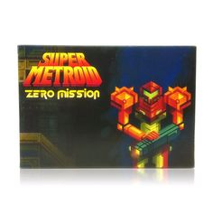 Super Metroid: Zero Mission SNES Super Nintendo game, includes box and game cartridge only. Cleaned, tested and comes with a FREE box protector! Super Nintendo Console, Super Nintendo Games, Super Metroid, Command And Conquer, Free Boxes, Entertainment System, Zero, Game Boy, Gaming