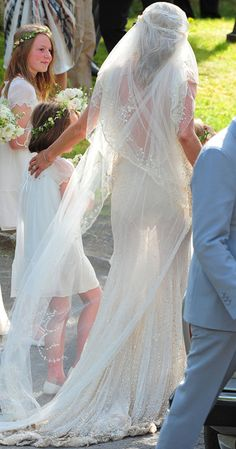 Kate Moss's wedding dress - by John Galiano