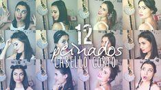 ¡12 PEINADOS PARA CABELLO CORTO! | Paulettee