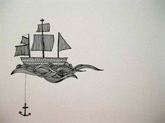 Would make a cute boat anchor tattoo.   But I still don't think you should do it.