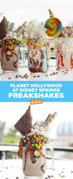 You Have To See How Disney Does Freakshakes