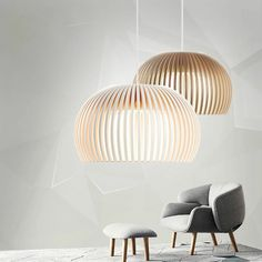 Unconventional Pendant Light Ideas For Your Home Like These Ideas? Visit Us For More Pallet Patio Fu Cage Pendant Light, Pendant Light Fixtures, Pendant Lighting, Pendant Lamps, Light Fittings, Modern Hanging Lights, Ceiling Light Shades, Dining Room Bar, Dining Rooms