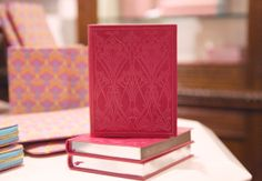 Keep a Liberty London leather notebook on your desk for capturing all your notes and scribblings.  Shop Liberty stationery: http://www.liberty.co.uk/fcp/categorylist/dept/liberty-of-london_stationery