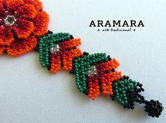 Seed Bead Bracelets, Seed Beads, Huichol Art, Spiritual Meaning, Mexican Jewelry, Flower Bracelet, Shakira, Bead Art, Deities