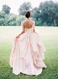 Love the blush color.