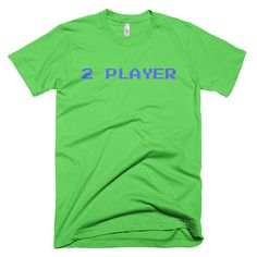 Fitted, comfortable, and soft – this t-shirt was made just for you. And it can withstand several washings while maintaining its shape, so its great for everyday wear! Made in America for a lower carbon footprint, by staff receiving ethical pay and benefits. Recyclable cotton! #funny #novelty #gamer #retro #80s #fun #cool #Nintendo #Sega #SustainableFashion